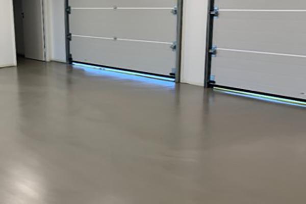 Designgulv i garage